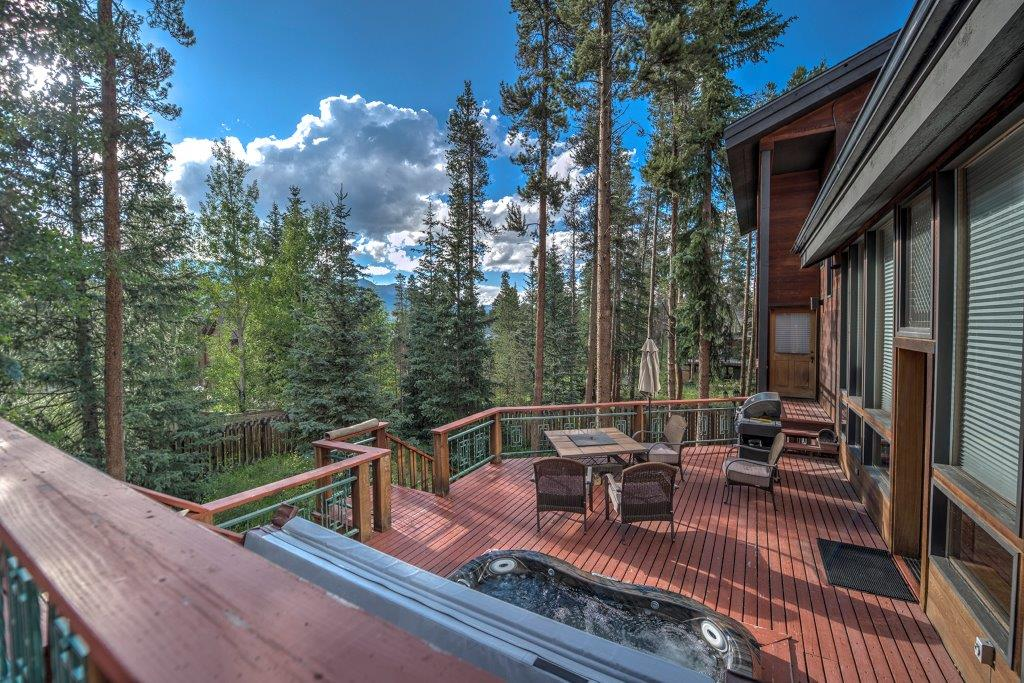 Summit County vacation rentals with hot tub