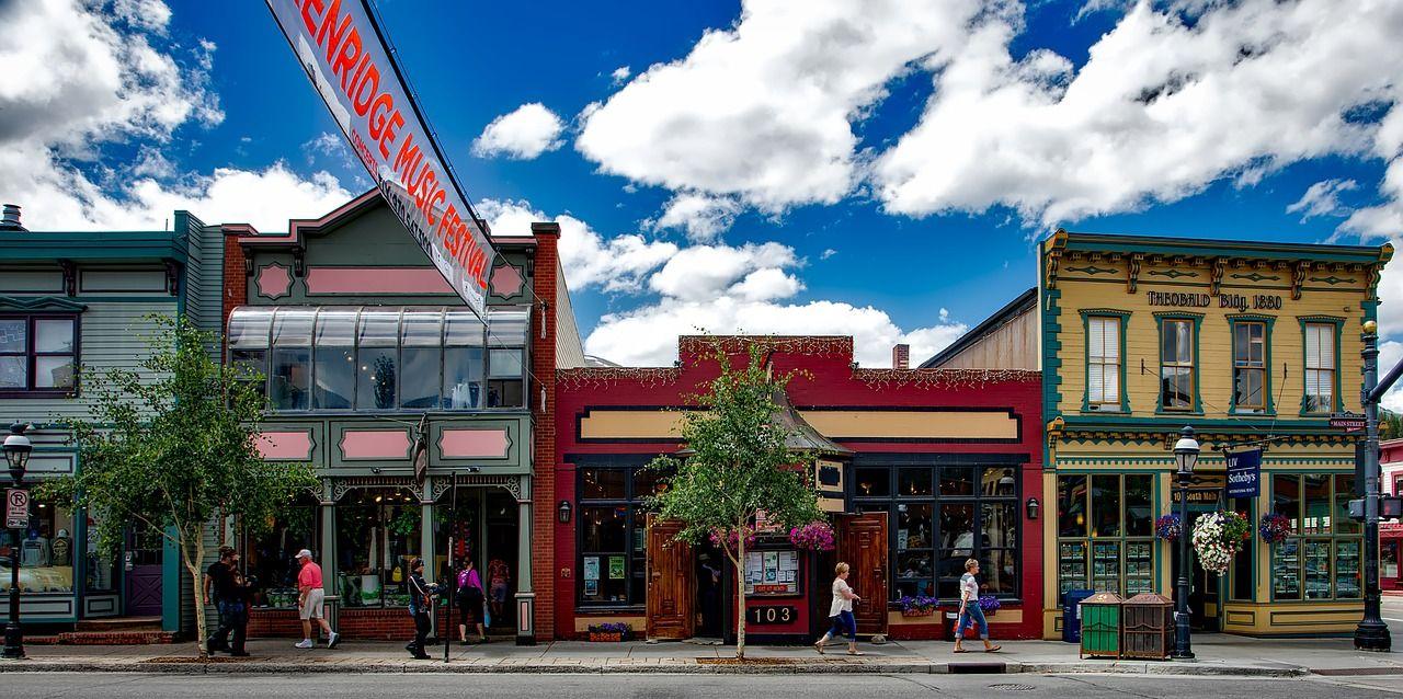 Downtown Breckenridge Colorado
